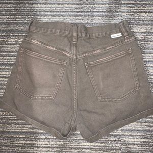 Billabong olive green shorts